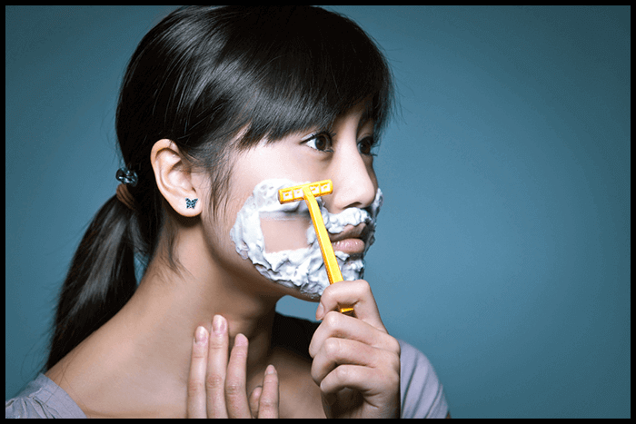 how to stop shaving